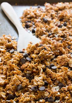 Coconut Pecan Chocolate Chip Granola