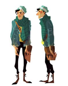 Character design by crystal Kung