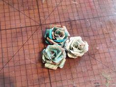 Red Rubber Designs: Tutorial Tuesday: Create Handmade Tea Roses