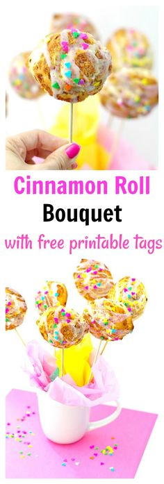 Cinnamon Roll Bouque