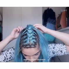 For more braid video tutorials just visit our website! Do you wonder how to dutch braid your own hair easly? So, 2019 will be the year of the braids. We are very excited about this Curly Hair Styles, Natural Hair Styles, Cool Braids, Box Braids Hairstyles, Hairstyles Haircuts, Hair Videos, Braid Styles, Hair Designs, Hair Hacks