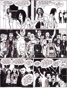 "orano:    Jaime HERNANDEZ - Original art for ""Wigwam Bam"" Love and Rockets no. 33 - 1990 Fantagraphics"