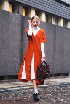 How to Layer Dresses So You Can Wear Them Right Now | StyleCaster