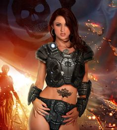 Karlie Montana is a Gear... Gears of War Cosplay by theArLeQuIn on deviantART