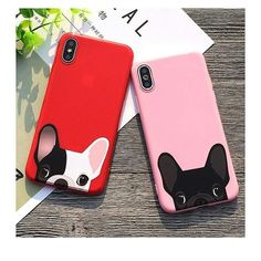 This iPhone case has an adorable design of a dog. Never lose colour, non smell and dirt resistant. Can be put onto your device easily. Soft silicone material improves shockproof and scratch-resistant. Iphone 7, Diy Iphone Case, Floral Iphone Case, Marble Iphone Case, Coque Iphone, Iphone Cases, Free Iphone, Dog Phone, Funny Phone Cases