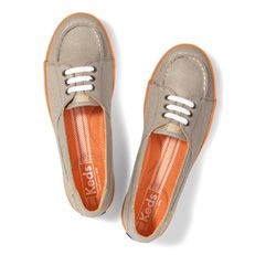 I LOVE these Keds! They are really comfy and look great with capris or jeans.
