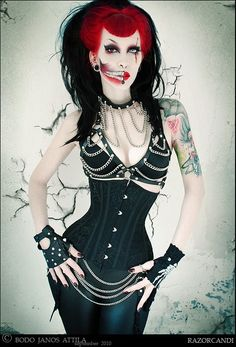 gothaesthetic:    Etsy Item of the Day: Webs of Deceit Underbust Steel Boned Corset by Gore Couture of England.