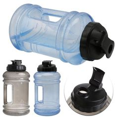 Big Large Water Bottle Portable Atomizing Bottles For Outdoor Sports/ Gym