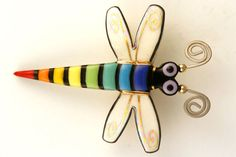 Dragon Fly Pin Dragonfly Brooch Handmade by seanbrownartist, $59.00