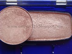"Mac ""All That Glitters"" vs. CoverGirl ""Mink"" - eyeshadow drugstore dupe"