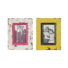 Distressed Photo Frame - Set of 2