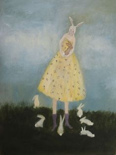 artisticmoods:  Foster, by Jeanie Tomanek.