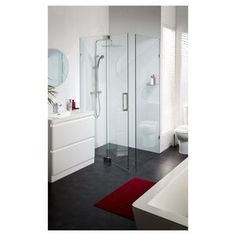 Masters Home Improvement Design Suites, Frameless Shower, Shower Screen, Tall Cabinet Storage, Home Improvement, Vanity, Flooring, Masters, Bathroom Ideas