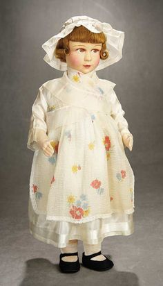 French Cloth Doll in Folklore Costume by Raynal 700/900