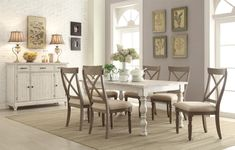 Shop For The Riverside Furniture Aberdeen Dining Room Group At Sheelys Appliance