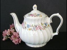 Sadler EnglishTeapot  Floral Decoration  by SusansShopSelections