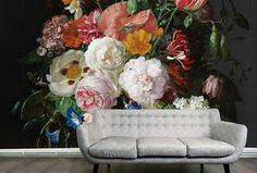 flower power behang