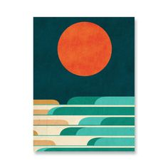 We love Budi's work as it is colorful, fun, and surreal.
