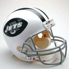 New York Jets 1965 to 1977 Throwback Full Size Replica Helmet