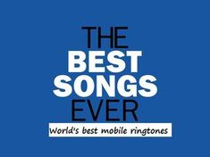 Ringtones For Android Free, Download Free Ringtones, Mobile Ringtones, Ringtones For Iphone, Best Ringtones, Ringtone Download, Best Song Ever, Best Songs, Full Hd Wallpaper Android