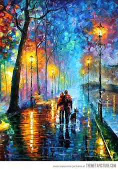 One of The Most Amazing Oil Paintings By Artist Leonid Afremov
