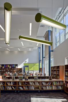Fun lights, McMicken Elementary School / TCF Architecture