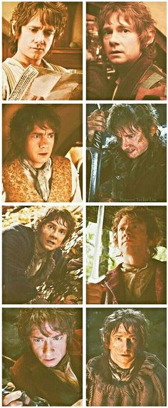 The Hobbit - Martin Freeman the perfect cast for Bilbo, too bad he couldn't re do Frodo too. The Hobbit Movies, O Hobbit, Hobbit Art, Martin Freeman, Bilbo Baggins, Thorin Oakenshield, Kili, Concerning Hobbits, Desolation Of Smaug