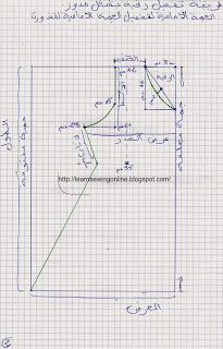 الدرس الثالث في تعليم الخياطة | تعلم الخياطة اون لاين