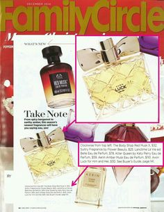 Avon in the news..The New fragrance,  Luck