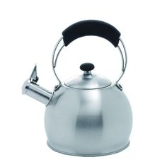 Galaxy 10.4-Cup Stovetop Tea Kettle in Silver
