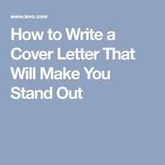 anatomy of a cover letter infographic career development