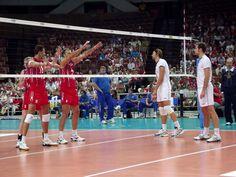 Podczas meczu Rosja - Włochy
