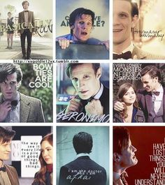Some of the 11th Doctor's quotes.