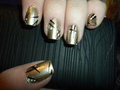 Nail art 8 Brown