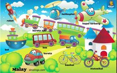 Online Malay games - Click and tell online game - Malay language learning games for kids.Malay for kids ! Malay learning for children. #malay   #malaysia   #learnmalay    www.dinolingo.com