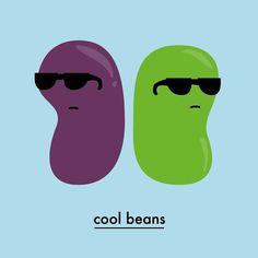 Cool Beans . . . #funnymemes #design #slang #illustration #toocoolforschool #coolbeans #berlin #berlinstagram #badass