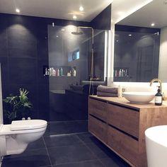 All About Unique Bathroom Remodel Bad Inspiration, Bathroom Inspiration, Home Decor Inspiration, Simple Bathroom, Modern Bathroom, Master Bedroom Bathroom, Bathroom Interior Design, Beautiful Bathrooms, Bathroom Renovations