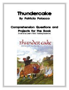 Thunder Cake Vocabulary
