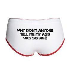 19a5ea56d78a #Spaceballs-Big Ass Women's Boy Brief Women's Boy Briefs, Cute Quotes, Movie