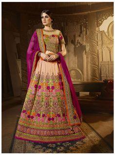 Indian bollywood bridal lehenga choli dupatta for wedding party wear lengha  #Handmade #LehengaCholiDupatta