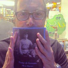 """Anche Luca Bianchini legge """"Fiume di Gennaio"""". Grazie Luca!"""
