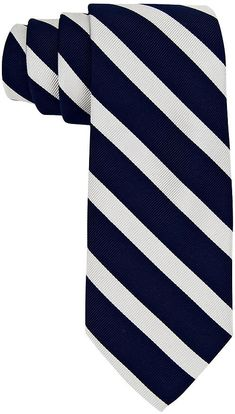 $38, Tommy Hilfiger Vintage Slim Slide Stripe Tie. Sold by Macy's. Click for more info: https://lookastic.com/men/shop_items/27707/redirect