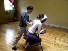 Thai Chair Massage 1 - YouTube