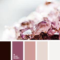 белый, бледно-лиловый, бордовый, красный, лиловый цвет, оттенки лилового, оттенки розового, палитра цветов, подбор цвета, светло-розовый, тёмно-красный, цвет сахарных конфет, цветовое сочетание, яркий розовый.