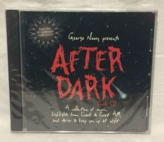 George Noory Presents After Dark Coast to Coast AM Radio Show Double CD 2004