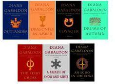 Diana Gabaldon Books  :)