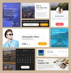 Travel UI Kit – SiteUp