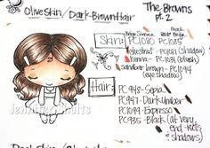 Prismacolor Skin/Hair Guide Book – Deconstructing Jen