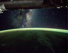 Earth Hour reaches space across the International Space Station