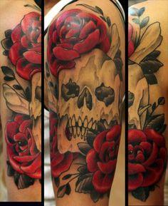 danielle's skull n roses by chris primm | Yelp